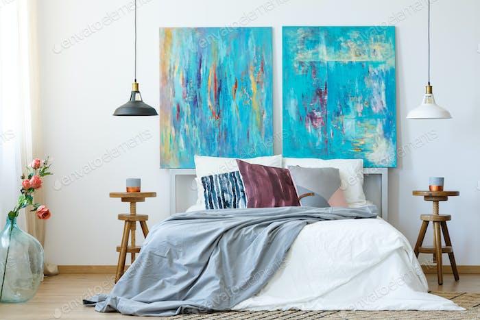 Inspiring idea for bedroom