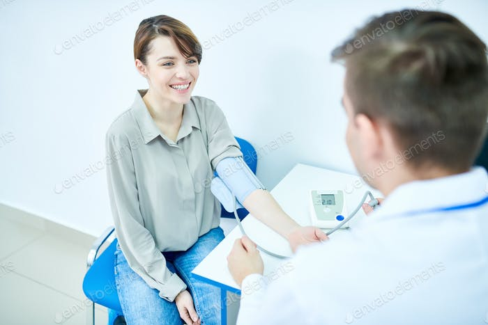 Beautiful Woman Vising Doctor