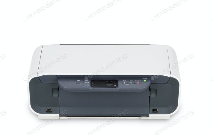 Color Printer isolated