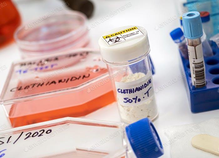 Laborforschung über das Insektizid Clothianidin