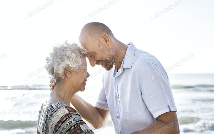 Ein älteres Paar