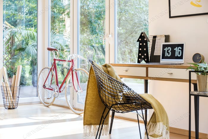 Bike at home office