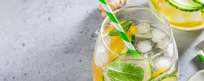 Summer healthy cocktails