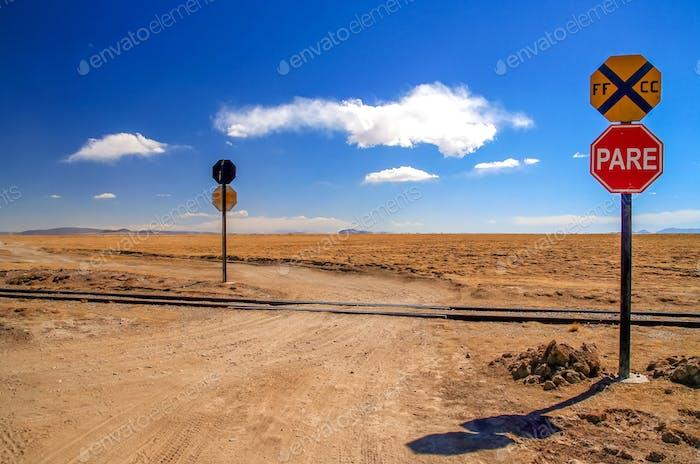 Fernbahnübergang