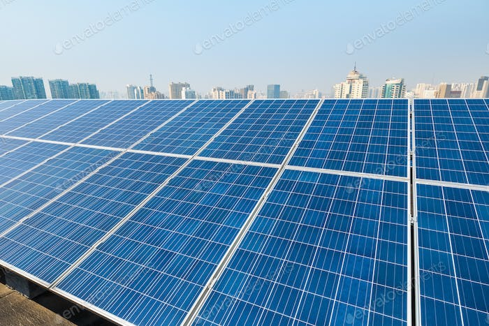 solar energy and city