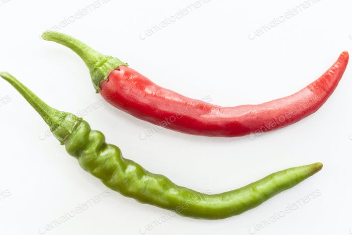 Two Isolated Chilies