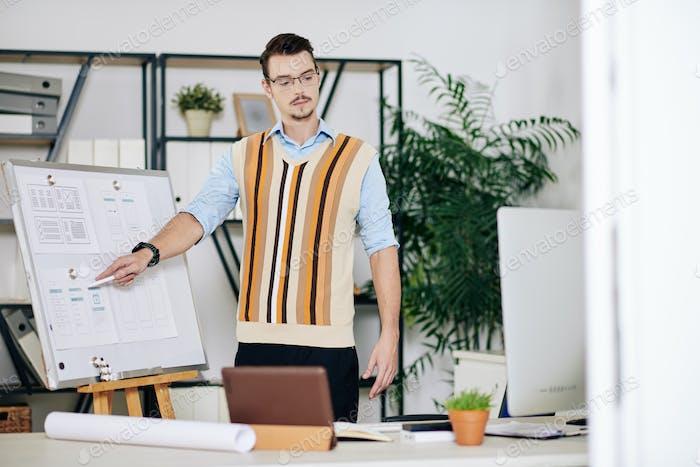 UX and UI design teacher