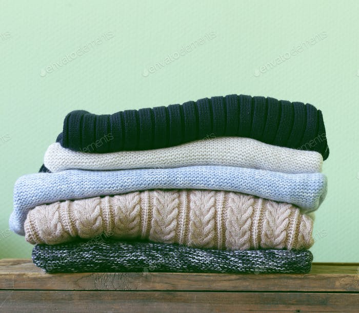 Warm Knitted Sweaters