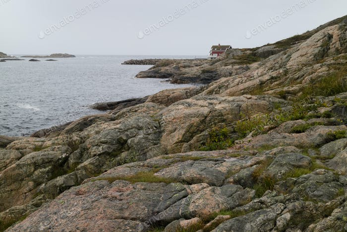 Deserted place in Lindesnes, Norway
