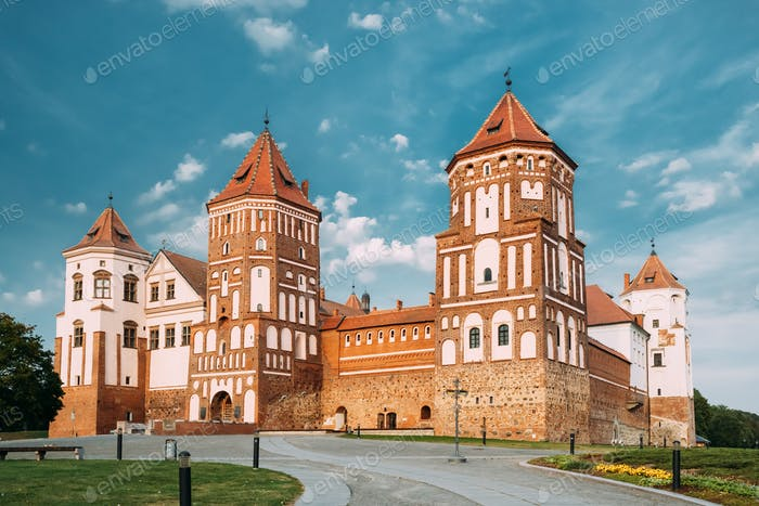 Mir, Belarus. Mir Castle Complex. Architectural Ensemble Of Feud