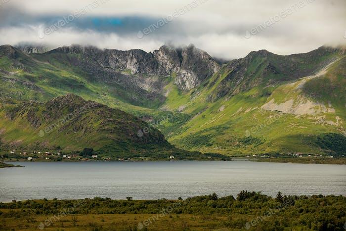 Norwegian Lofoten Landscape