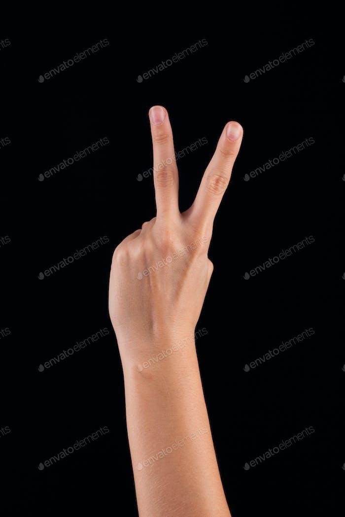 Thumbnail for woman hand