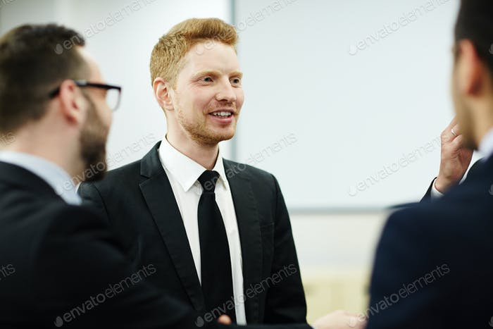 Meeting of bankers