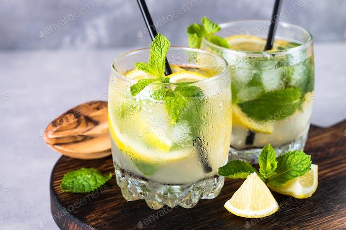 Lemonade summer cold drink