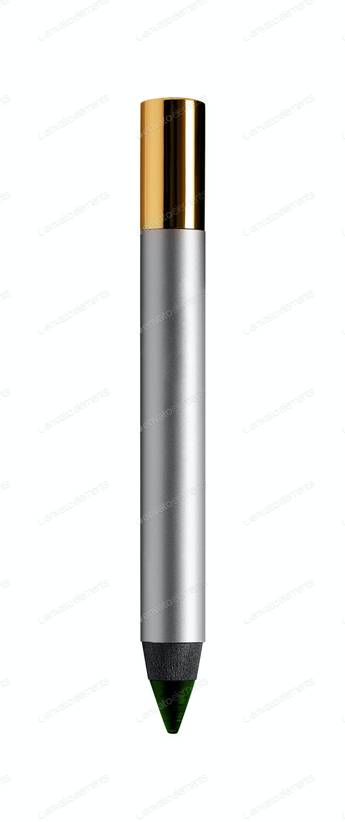 Cosmetic pen isolated on white