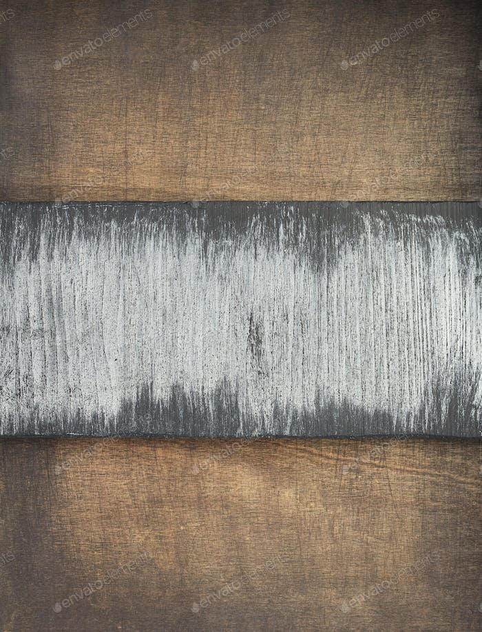 plank board at wooden background