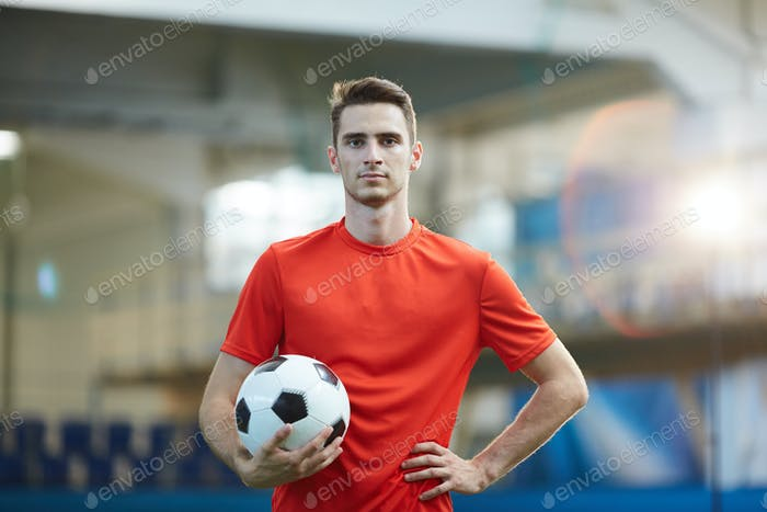 Guy with soccer ball