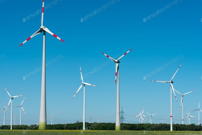 Wind energy generation in Germany