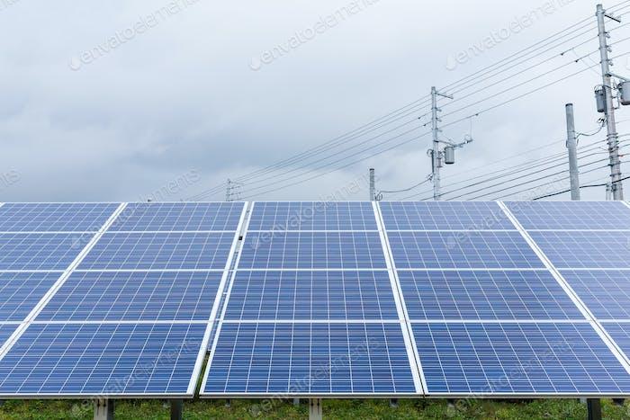 Solar energy power station