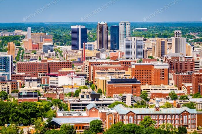 Birmingham, Alabama, USA Skyline