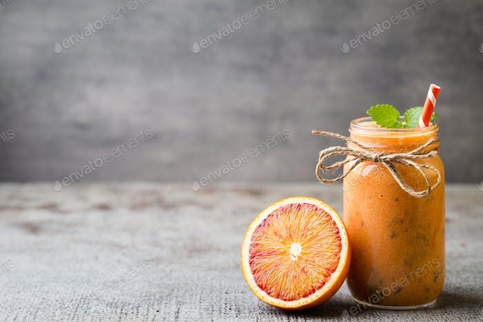 Batido de frutas.