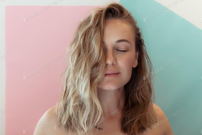Genuine Woman Portrait