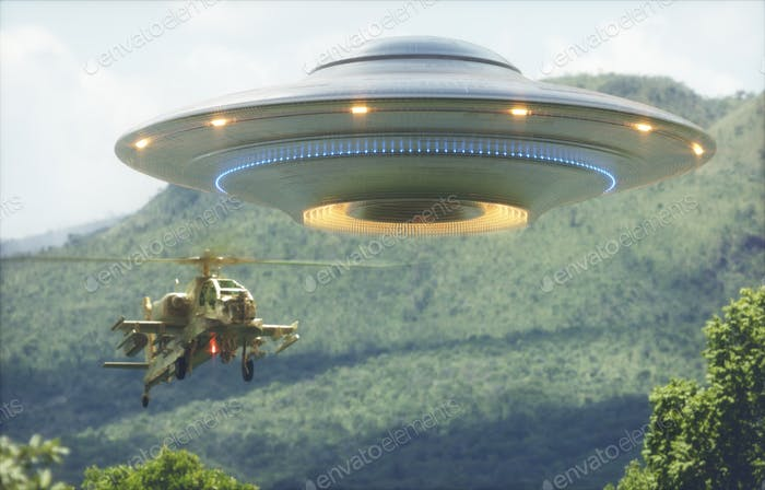 Unidentified Flying Object Worlds War