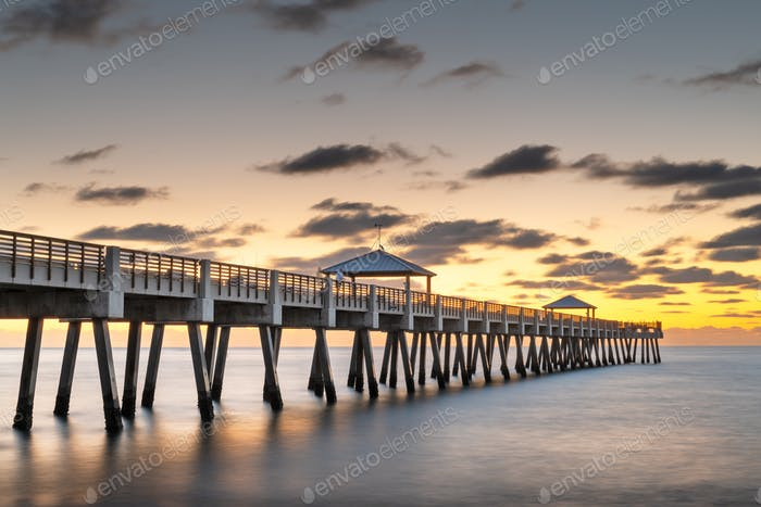 Juno, Florida, USA at the Juno Beach Pier