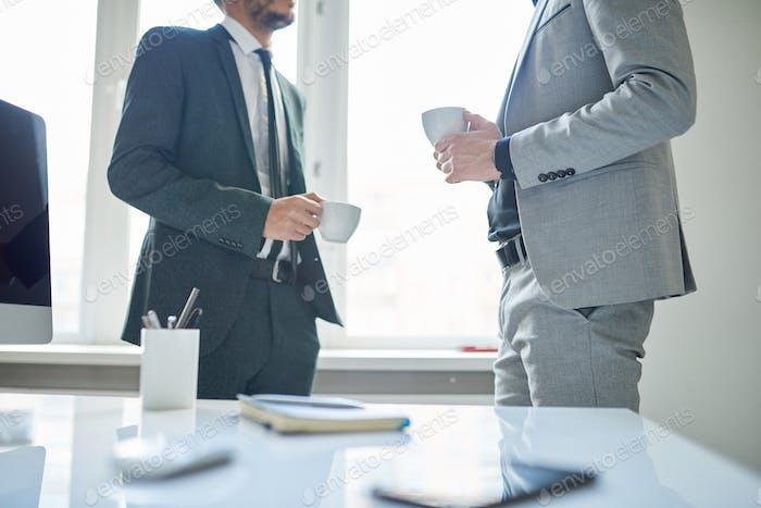 Unrecognizable Business People on Coffee Break