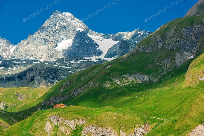 Großglockner Berggipfel
