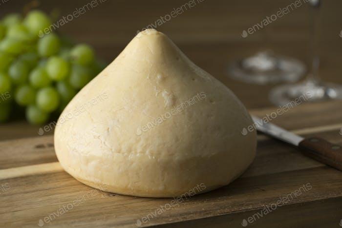 Spanish tetilla cheese