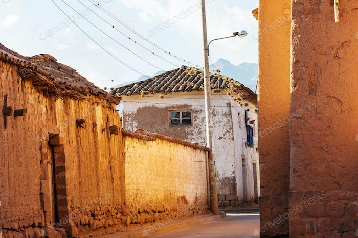 Street in Peru