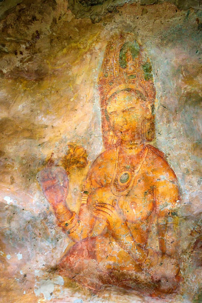 Sigiriya murals of fifth century