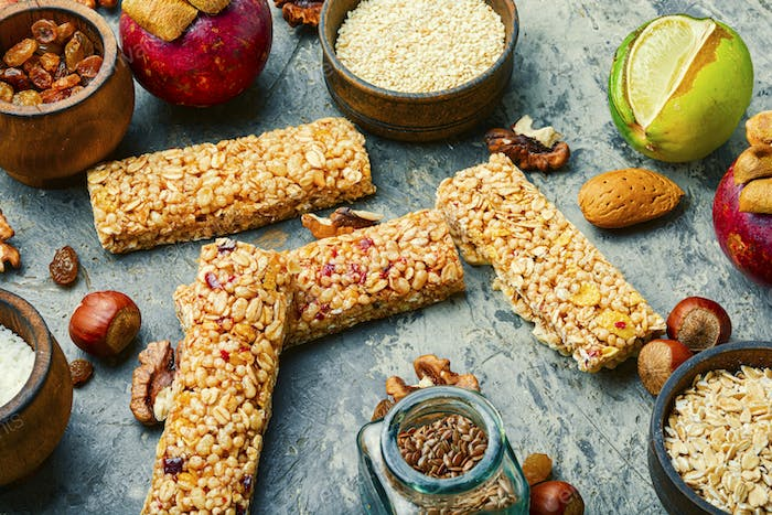 Cereal granola bars