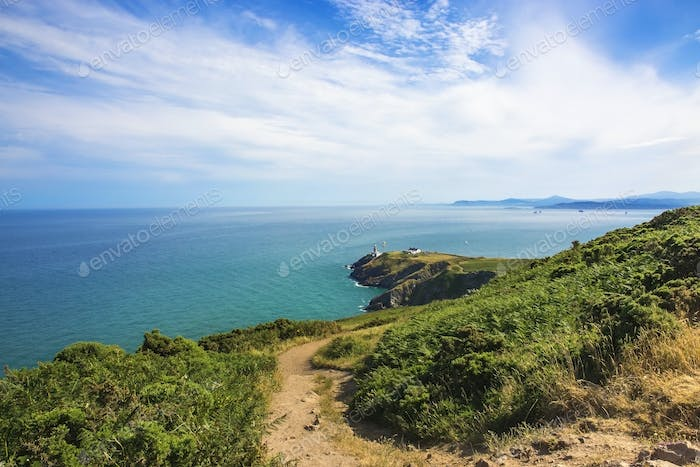 Howth Head with Baily Lighthouse