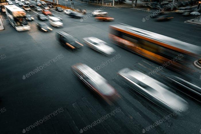 городское движение