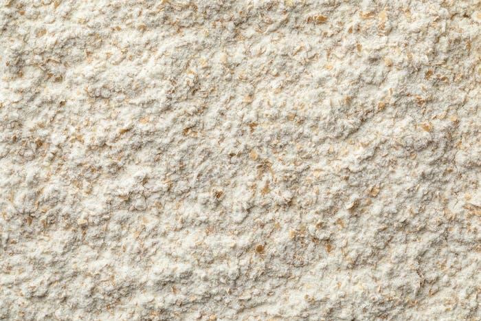 Ground wheat flower full frame close up