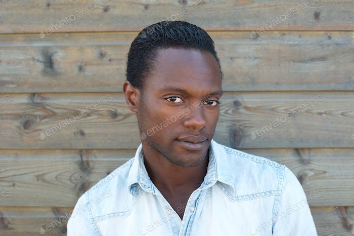 Attractive african american man