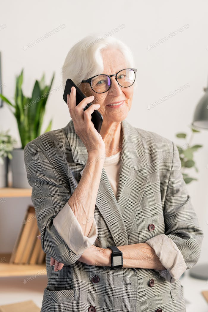 Granny on the phone