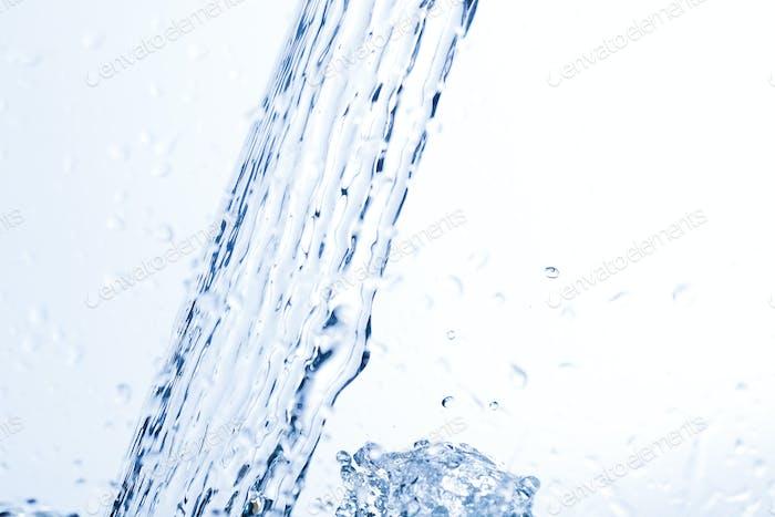 Water, drops, sprays, splashes, stream, flow, abstraction, minimalism
