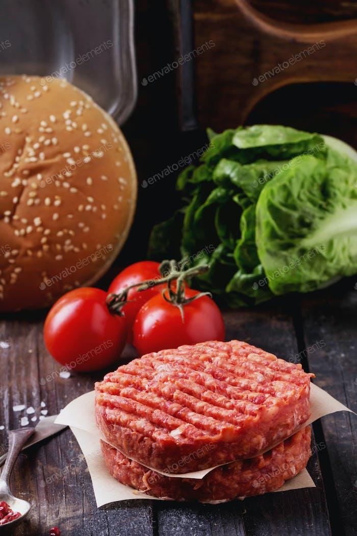 Cocina Página de inicio de hamburguesas