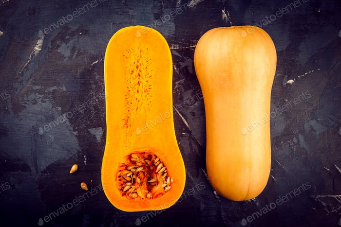 Thumbnail for butternut squash with seeds