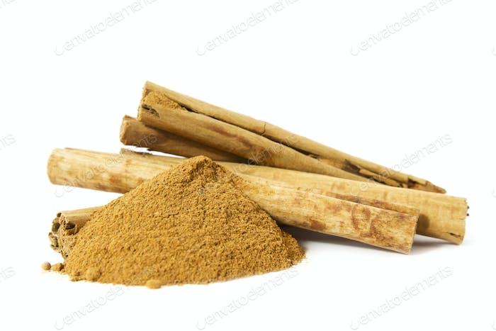 Organic Cinnamon Sticks and Powder