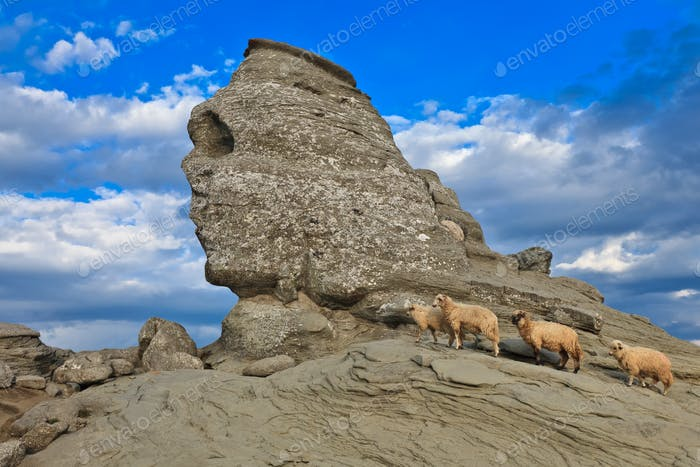 La esfinge Bucegi, Rumanía