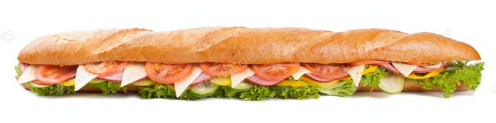 Großes französisches Sandwich
