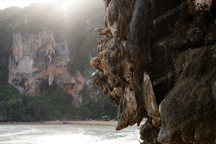 Tonsai Beach, Railay, Krabi area south of Thailand.