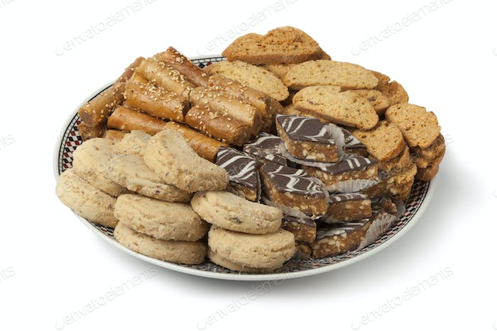 Traditional festive Moroccan cookies