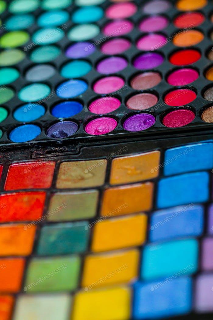 Professionelle Farbpalette für Make-up-Künstler