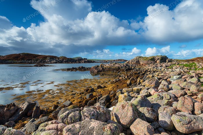 Stunning Coastline at Kintra on the Isle of Mull
