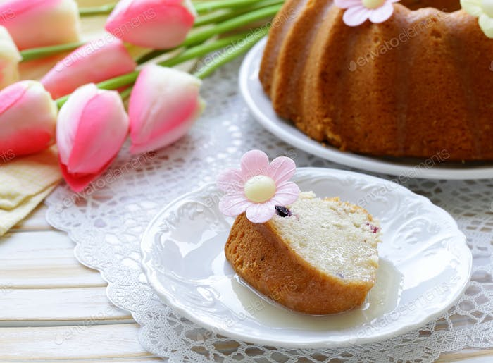 Easter Round Cake